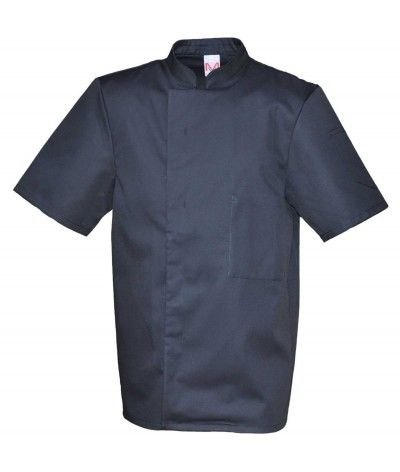 Veste de cuisine noire promo