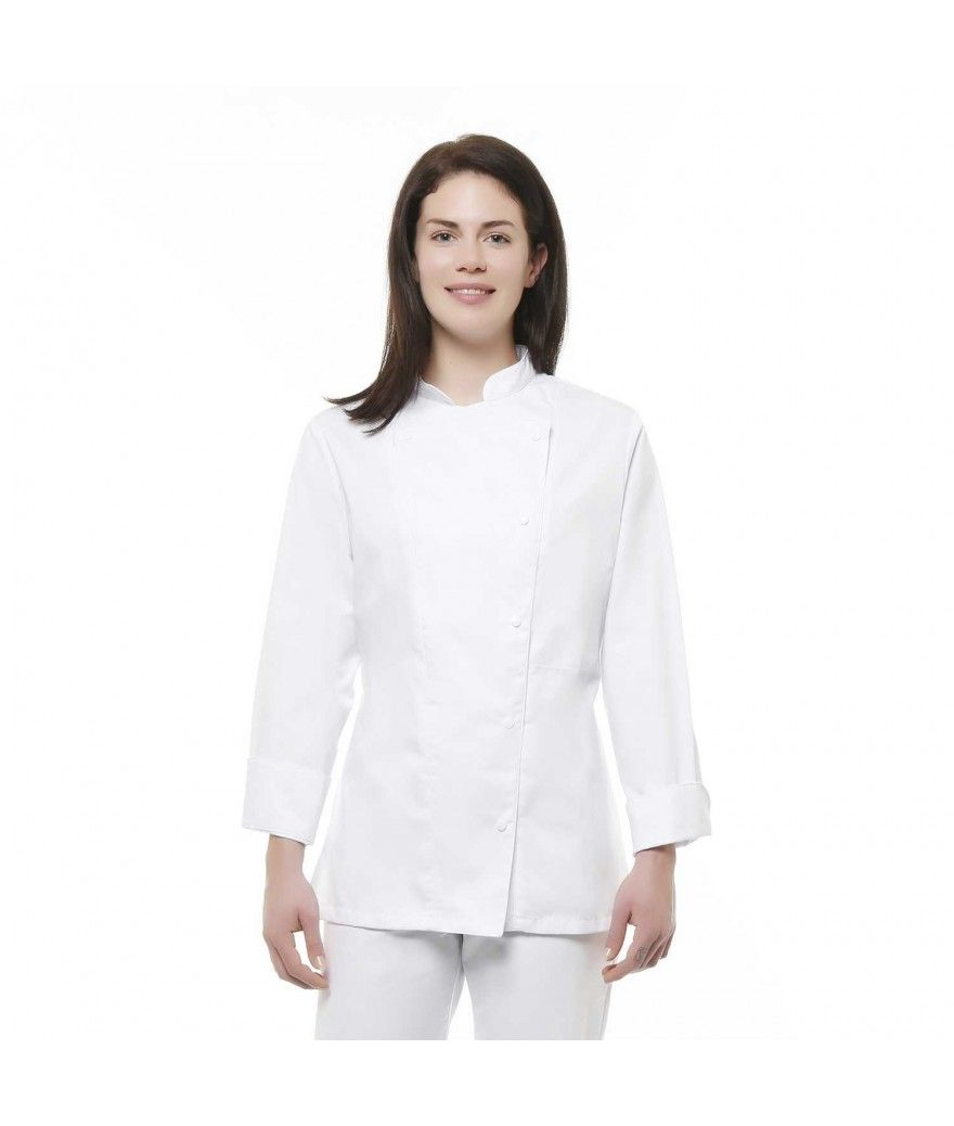 Veste ML blanche meringue