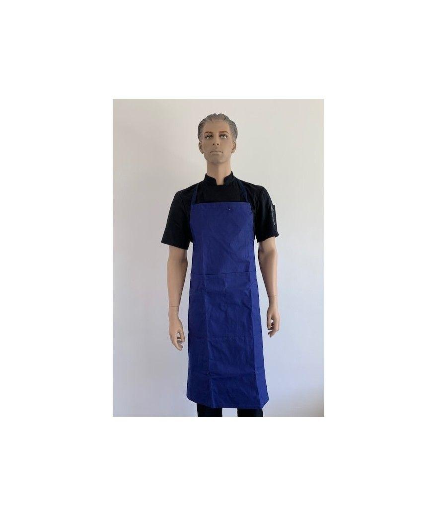 Tablier de cuisine à bavette MONSIEUR VESTE PISE veste marine