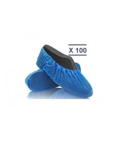Couvre chaussures en plastique lot de 100