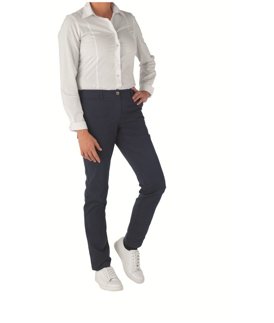 Pantalon de cuisine femme CHIARRA marine