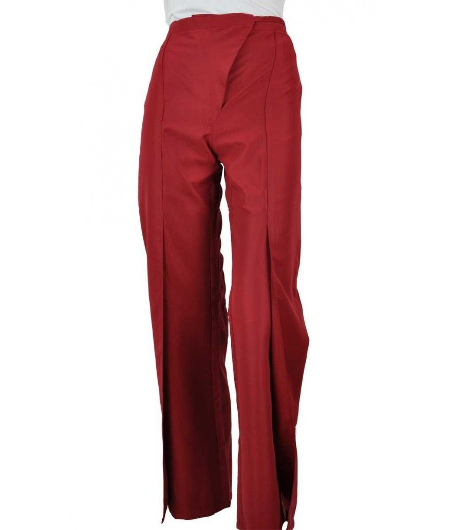 Pantalon spa femme bordeaux