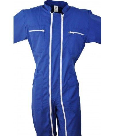 Double zip bleue