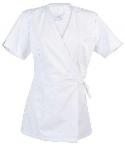 blouse MC Manéa Longue blanche