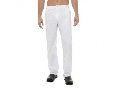 Pantalons de cuisine,blanc,noir ou pied de poule,modèle homme ou femme